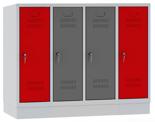 00150453 Szafa dla dzieci, 4 segmenty, 4 drzwi (wymiary: 978x1190x480 mm)