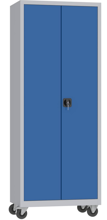 00150598 Szafa na akta na kółkach, 2 drzwi (wymiary: 1950 + koła x800x500 mm)