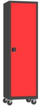 00150623 Szafa narzędziowa na kółkach, 1 drzwi (wymiary: 1950 + koła x600x500 mm)
