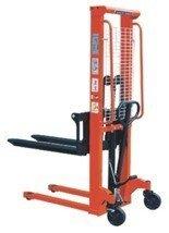 00543620 Wózek podnośnikowy ręczny z widłami regulowanymi oraz dodatkowa pompą nożną (udźwig: 1500 kg, min./max. wysokość wideł: 85/1600 mm)
