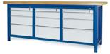 00853660 Stół warsztatowy, 12 szuflad (wymiary: 2100x900x740 mm)