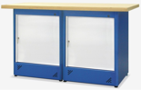 00853683 Stół warsztatowy, 2 drzwi (wymiary: 1500x900x740 mm)