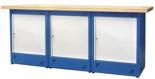 00853702 Stół warsztatowy, 3 drzwi (wymiary: 2100x900x740 mm)