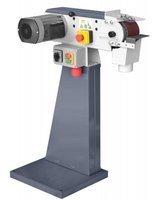 02861316 Szlifierka taśmowa (wymiary taśmy ściernej: 100x1220 mm, prędkość taśmy szlifierskiej: 9,5/19 m/s, moc silnika: 1,5 kW)