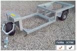 02938373 Wózek sadowniczy dwupaletowy WPS-2S, wersja: ocynkowana (ładowność: 800 kg)