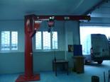 03049652 Żuraw przyścienny obrotowy bez wciągarki do mocowania jako słup (udźwig: 800 kg, długość ramienia: 3500 mm)