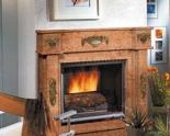 03356461 Portal marmurowy Madera Antic do wkładów żeliwnych standardowych (kolor: Mocca Creme)