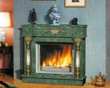03356471 Portal marmurowy Madera Royal do wkładów żeliwnych standardowych (kolor: Mocca Creme)