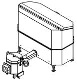06652918 Automatyczny podajnik do spalania biomasy 2m3 400V 30kW, głowica: ceramiczna (paliwo: trociny, wióry, zrębki)