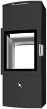 07135638 Piec wolnostojący żeliwny Austroflamm 6kW Chester Ctra (z systemem akumulacyjnym)