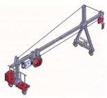 08126410 Wciągarka elektryczna linowa budowlana Camac Minor Front (udźwig: 500 kg)