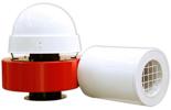 08549387 Wentylator promieniowy dachowy z wylotem poziomym WPA-10-D-3-N 400V (obroty synchroniczne: 3000 1/min, moc: 3 kW, wydajność wentylatora: 6200 m3/h)