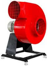 08549403 Wentylator promieniowy stacjonarny z ramą amortyzującą i z ramą amortyzującą WPA-3-E-3-N-S 400V (obroty synchroniczne: 3000 1/min, moc: 0,37 kW, wydajność wentylatora: 1160 m3/h)
