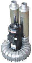 08549437 Wentylator promieniowy wysokocisnieniowy WW-3-1-3000 400V (obroty synchroniczne: 3000 1/min, moc: 3 kW, wydajność wentylatora: 300 m3/h)