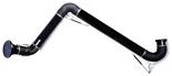 08549519 Odciąg stanowiskowy, ramię odciągowe ze ssawką z lampką halogenową i transformatorem, wersja wisząca ERGO-LL/Z-2 (średnica: 160 mm, długość: 2 m)