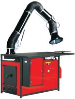 08549609 Urządzenie filtrowentylacyjne, stanowisko warsztatowe spawalnicze z ręcznym uruchamianiem wentylatora filtrowentylacyjnym z filtrem i aparaturą elektryczną bez ramion odciągowych ERGO-STW-F (moc: 1,1 kW, wydajność: 1500 m3/h)