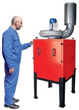 08549637 Urządzenie filtrowentylacyjne, separator mgły olejowej z filtrem wysokoskutecznym MISTOL-2000 (moc: 1,5 kW, wydajność: 3100 m3/h)