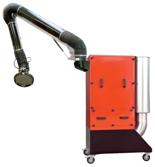 08549643 Urządzenie filtrowentylacyjne do oczyszczania powietrza z zanieczyszczeń pyłowo-gazowych bez ramion odciągowych HARD-2000-S (moc: 1,5 kW, wydajność: 2000 m3/h)