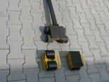 12235616 Zestaw wózków, rolki: 8x kompozyt (nośność: 10 T)