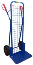 13340541 Wózek dwukołowy ręczny z siatką do przewozu ciężkich przedmiotów (nośność: 250 kg)