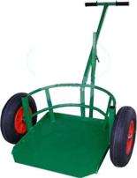 13340543 Wózek dwukołowy ręczny do przewozu dużych donic (nośność: 200 kg)