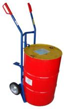 13340560 Wózek dwukołowy ręczny do przewozu stalowych beczek (nośność: 400 kg)