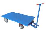 13340566 Wózek platformowy ręczny KB (koła: pneumatyczne 300 mm, nośność: 1500 kg, wymiary: 1000x2000 mm)