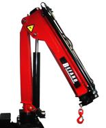 15246863 Żuraw jednoramienny Befard BF 1700.11 (udźwig: 690-1700 kg, zasięg: 1,2- 3,1m, ilość wysuwów hydraulicznych/ręcznych: 1/1)