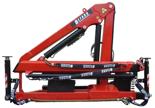 15246899 Żuraw dwuramienny Befard XF 1500A (udźwig: 490-990 kg, zasięg: 2,1-6,1 m, ilość wysuwów hydraulicznych/ręcznych: 2/brak)