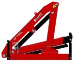 15246905 Żuraw dwuramienny Befard XF 1700.11 (udźwig: 600-2000 kg, zasięg: 2,0-6,3 m, ilość wysuwów hydraulicznych/ręcznych: 1/1)