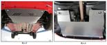 19157697 Osłona podwozia Fiat Panda 2003-2012, silnik: V-wszystkie (osłona zakrywa: Silnik, skrzynia biegów, chłodnica)