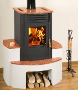 23055319 Piec wolnostojący 10kW na drewno i węgiel (bez podstawy)