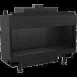 30047786 Wkład kominkowy na gaz 4,7-10kW LEO 100 na gaz ziemny NG (szyba prosta)