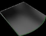 30057410 Podstawa szklana pod wklad wolnostojący Madrit (wymiary: 1000x900 mm)