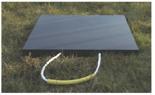 33922679 Podkład gumowy kwadratowy pod stopy stabilizatorów dźwigów GP 90-80 (wytrzymałość: 90 T, wymiary: 1200x1200x80 mm)