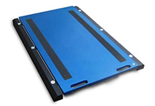 38554966 Waga podkładkowa z bezprzewodowym miernikiem wagowym, z legalizacją (udźwig: 10000 kg, podziałka: 5 kg, wymiary: 400x500 mm)
