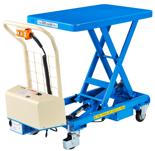 39955547 Wózek platformowy nożycowy elektryczny (wymiary: 815x500mm, udźwig: 300 kg)