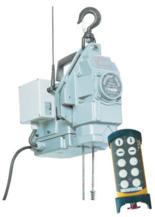 44929805 Przenośna wciągarka silnikowa Tractel® Minifor TR10, sterowanie radiowe, 230V (udźwig: 100/200 kg)