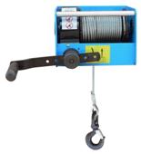 44929812 Ręczny wciągnik linowy z przekładnią ślimakową Tractel® CAROL™ TS250 (bez liny, udźwig: 250 kg)