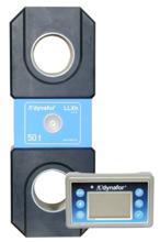 44929995 Precyzyjny dynamometr z wyświetlaczem do pomiaru sił rozciągających oraz ciężaru zawieszonych ładunków Tractel® Dynafor™ LLXH (udźwig: 25 T)