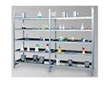 77156825 Regał ocynkowany zaczepowy na chemikalia, 4 półki (wymiary: 2000x1000x600 mm)