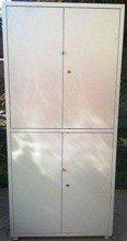 77157110 Szafa biurowa, 2 poziomy, 4 drzwi (wymiary: 2000x900x450 mm)