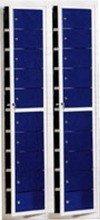 77157128 Szafa skrytkowa, 20 drzwi (wymiary: 2000x700x400 mm)