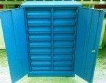 77157206 Szafka narzędziowa, 18 szuflad (wymiary: 1250x800x500 mm)