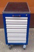 77157362 Wózek narzędziowy, 6 szuflad (wymiary: 740x400x500 mm)