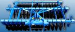 95247991 Ciężka brona ścierniskowa U 671, wersja półzawieszana, składana hydraulicznie (szerokość robocza: 6 m, liczba talerzy: 48, zapotrzebowanie mocy: 240 KM)