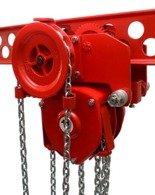 9588161 Wciągnik łańcuchowy przejezdny WŁ-80P (udźwig: 8,0 T)