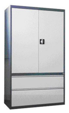 99551734 Szafa aktowa, 2 drzwi , 2 szuflady (wymiary: 1990x1000x435 mm)