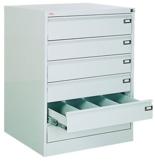99551766 Szafka kartotekowa 1,0mm, 6 szuflad (wymiary: 1000x775x630 mm)