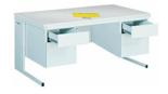 99551874 Biurko, 4 szuflady (wymiary: 740x1600x800 mm)